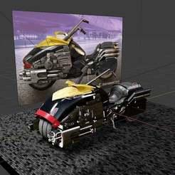 IMG_20200903_202050_492.jpg Download free STL file Dredd Bike • Template to 3D print, anvilcrafter