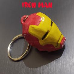 ironkey.png Download STL file Ironman Keychain • 3D printable design, aaryakumargupta