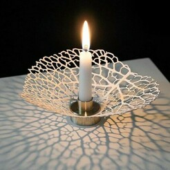 candle stand.jpg Download STL file Decor Candle Stand • 3D printer design, aaryakumargupta