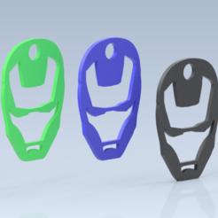 spidermankeyring.png Download STL file Ironman Keychain • 3D printable design, aaryakumargupta