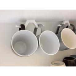 2020-11-03_13-27-27-45.png Download STL file Mug Holder • 3D print object, aaryakumargupta