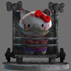 1.jpg Download STL file Hello Hannibal Kitty Diorama 3D print model • 3D printable design, seandarkhouse