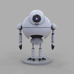 1.jpg Download STL file Dragon Ball GT Giru Robot 3D Printing Figure 3D print model • Object to 3D print, seandarkhouse