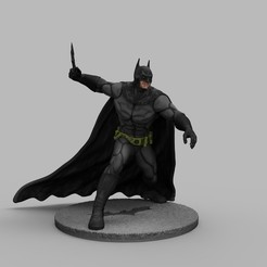 1.jpg Télécharger fichier STL BATMAN - Le diorama de figurines en impression 3D de Dark KNIGHT • Design imprimable en 3D, seandarkhouse