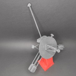 tbf-pioneer-space-probe-05.jpg Download STL file Pioneer 10 space probe • 3D print object, trailblazingfive