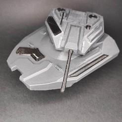 tbf-cyberpunk-2077-hovertank-picture-6.jpg Download STL file Cyberpunk 2077 hovertank • 3D printing object, trailblazingfive
