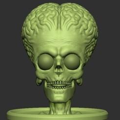 Download STL file Mars Attack • 3D print object, rigpes
