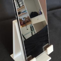 IMG_20200917_144201.jpg Télécharger fichier STL Porte téléphone • Objet pour impression 3D, vkm3d