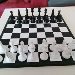 Chess board.jpg Télécharger fichier STL Classique des échecs • Plan pour impression 3D, Alawar3D