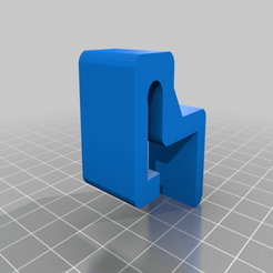 pot_lid_holder_bracket.png Download free STL file Pot lid holder bracket • 3D printer design, roberttco