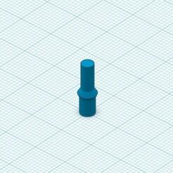 pin.jpg Download free STL file SCS8UU bearing block pins • 3D printable design, roberttco