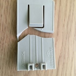 broken.JPG Download free STL file Kirby G3 Bag Holder Clip • 3D printing design, roberttco
