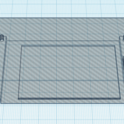 """2.8_LCD_NEGATIVE.png Download free STL file 2.8"""" LCD negative • 3D printing template, roberttco"""