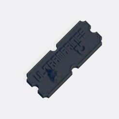 Ultramarines.jpg Télécharger fichier STL Plaque de l'armée des Ultramarines • Plan pour impression 3D, J-Dawg