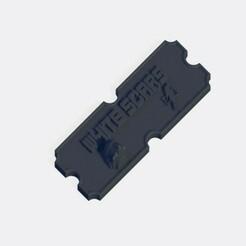 White Scars.jpg Télécharger fichier STL Plaque d'armée White Scars • Modèle pour imprimante 3D, J-Dawg