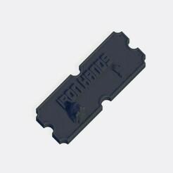 Iron Hands.jpg Télécharger fichier STL Plaque de l'armée Iron Hands • Plan à imprimer en 3D, J-Dawg