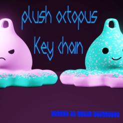 PulpoAzulcults.png Download STL file Plush octopus key chain • 3D print design, Ctrl_Z3T4