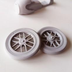 3.jpg Download free STL file Dimville Spider Wheels • 3D printing object, dimvillefactory