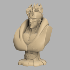 Annotation 2020-09-03 170730.png Download STL file Android 16 Bust • 3D printer design, DBZmodel