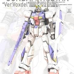 Boxart_Tristan_Ka_Style.jpg Download STL file Gundam Tristan ver. 'Voxdel' by Voxdel Works • Object to 3D print, VoxdelWorks