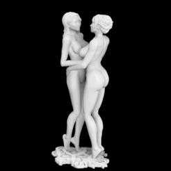 Screenshot 2020-09-22 212934.png Download free STL file Lesbian Girls • 3D printing design, nsfw3dmodel