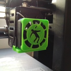 IMG_20201007_113940.jpg Download 3MF file Wanhao i3 mini fan protection • 3D printable model, damianeromani
