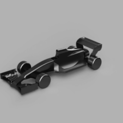 F1 avec aileron.png Download free STL file Formula 1 (With front spoiler) • 3D print object, DyJOmA