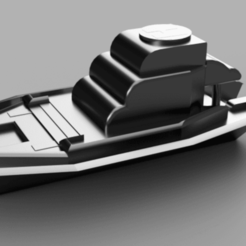 Yacht photo v1.png Download free STL file Yacht V2 • 3D printable template, DyJOmA