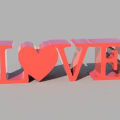 Love_2020-Sep-27_04-52-34PM-000_CustomizedView40247102602.png Download free STL file Love Ornament • Template to 3D print, Chill_3D_Printing