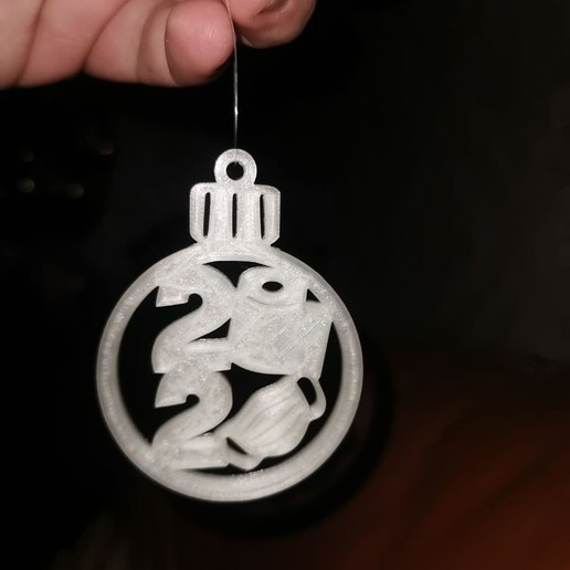 photo_2020-11-16_15-00-49.jpg Download free STL file 2020 covid xmas decoration • 3D print template, Chill_3D_Printing