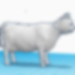Caw.stl Download free STL file Cat cow • 3D printer model, pep_in0