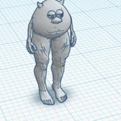 Skjermbilde 2020-11-20 kl. 14.18.14.png Download free STL file Mike Wazowski • 3D print design, pep_in0