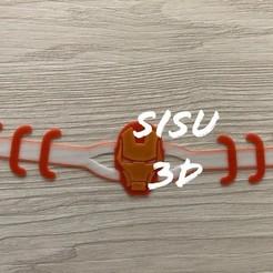 ironam sisu.jpg Télécharger fichier STL Ironman sauve les oreilles de Marvel en multicolore • Objet pour imprimante 3D, jarito11