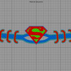 Superman STL.png Télécharger fichier STL Superman sauve les oreilles DC Comics Multicolore • Design imprimable en 3D, jarito11