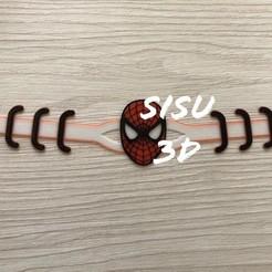 spider sisu.jpg Télécharger fichier STL Spiderman sauve des oreilles Marvel Multicolor • Modèle à imprimer en 3D, jarito11