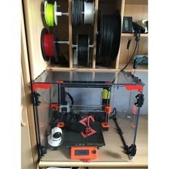 1.JPG Download free STL file 3D printer fully customizable enclosure with magnetic hinges • 3D printing design, stasiusds