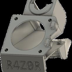 r2.png Télécharger fichier STL gratuit R4Z0R Double conduit de ventilation 40mm pour E3d V6 • Design pour imprimante 3D, acme_corp
