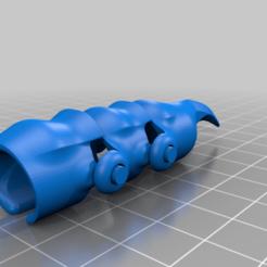 Gauntlet_pinky_saurian.png Télécharger fichier STL gratuit Doigt de gant • Plan imprimable en 3D, DinosaurNothlit