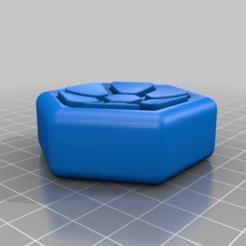 1cedb83f2f7dcd60a080ba3e102abaf1.png Download free STL file Fidget Hexagon • 3D printer model, DinosaurNothlit