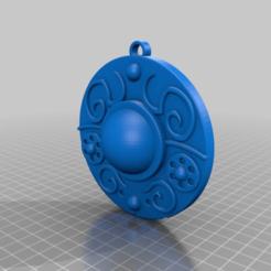 7714c26ab7e3c3be39c97b0de84b8926.png Download free STL file Starshield Necklace • 3D print design, DinosaurNothlit