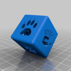 Morphing_Cube.png Download free STL file Animorphs Cube • 3D print model, DinosaurNothlit