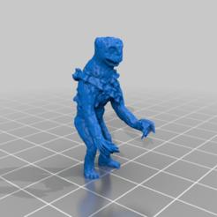 Animorphs_Howler_2.png Télécharger fichier STL gratuit Howler • Modèle pour imprimante 3D, DinosaurNothlit