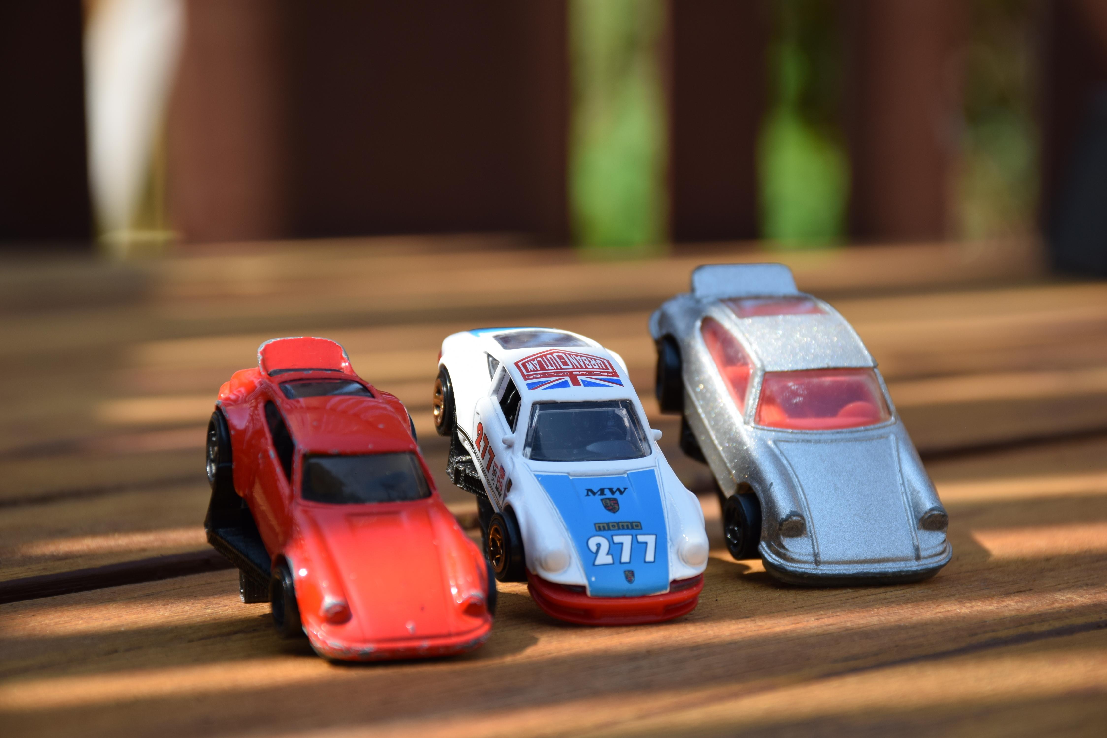 DSC_0495.JPG Download STL file Hotwheels & Diecast Car Display Mount • 3D printer model, mistry3design