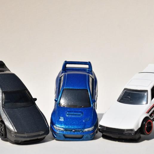 DSC_0472.JPG Download STL file Hotwheels & Diecast Car Display Mount • 3D printer model, mistry3design