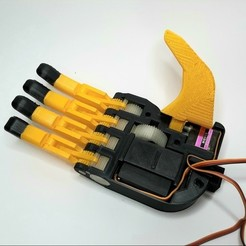 2.jpg Download STL file Robotic hand • 3D print design, armandotrujillo
