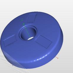 centro1.PNG Download STL file moyeu volant renault 5 alpine , center of renault 5 cup • 3D print template, j3d