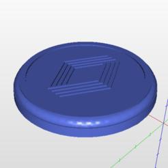 tapa1.PNG Download STL file Renault 12 Rims hub cover, wheel cap • 3D print model, j3d