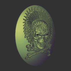 indianskull2.png Télécharger fichier OBJ crâne indien • Design pour impression 3D, fortesonniebekate
