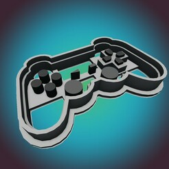 PSone 1.jpg Download STL file Play Station PSone COOKIE CUTTER (FOR PERSONAL USE ONLY) • 3D printer model, StarForgeCustoms