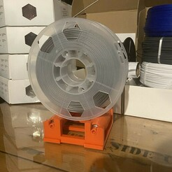 IMG_0517.JPG Download free STL file Filament Spool Roller ME • 3D printing design, StarForgeCustoms